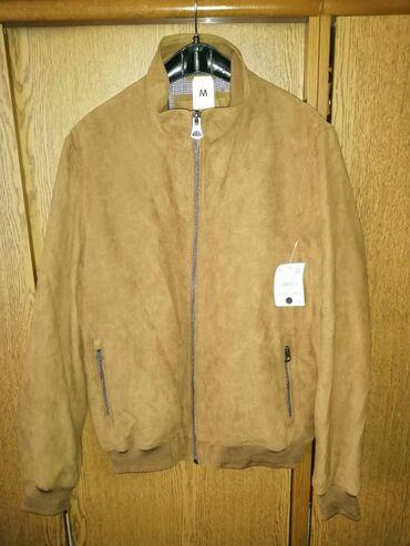 NOVA muška C&A jaknaNova muška braon jakna, kupljena za