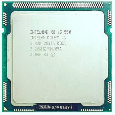 Intel Core i3-550 Processori3 550 3.2 GHz Dual-Core CPU Processor 4M