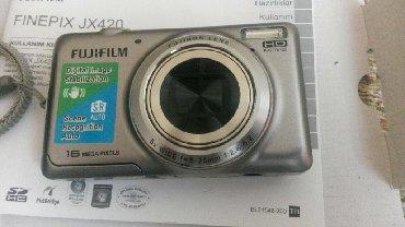 fujifilm - Azərbaycan: Fotoaparat Fiji film JX420, adapter I, USB kabeli, 4GB yaddaş kartı
