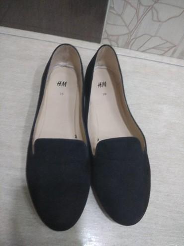 Продаю женские классные балетки обувь 39 размера фирмы H&M в