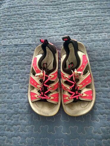 Детская обувь в Кыргызстан: Босоножки, Корея, на ножку 14-15 см, размер 6. Удобно регулируются по