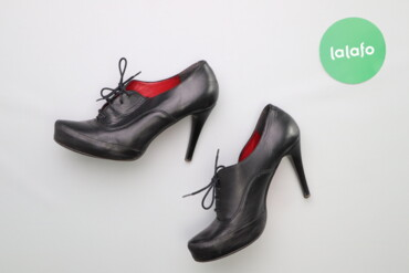 Женская обувь - Украина: Жіночі ботильйони на шнурівці Vera Gomma, p. 38     Висота підбора: 7