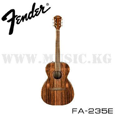 Гитара Электроакустическая, 6 струн, форма - концерт, верхняя дека -