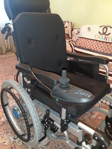 Инвалидные коляски - Кыргызстан: Новая электрическая коляска (Не пользовались ни разу) Состояние отличн