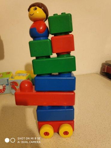 Lego груп, кубики для малышей, материал в Бишкек
