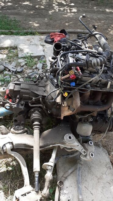 Автозапчасти и аксессуары в Базар-Коргон: Запчасти на ауди а 4. 1998- года. Мотор, коробка автомат, компьютер и