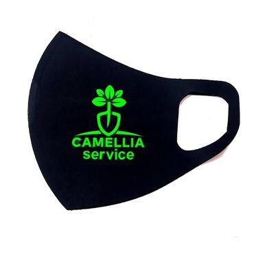 Maska ( reklamlı), üzərində istədiyiniz logo, şəkil, yazı