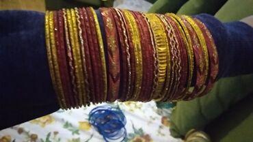 - Azərbaycan: Hind golbag. 35 eded. Индийские браслеты, 35 штук, привезли из Индии