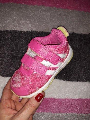 Adidas-patikice-kozne - Srbija: Adidas patikice za malu devojcicu,vel.24