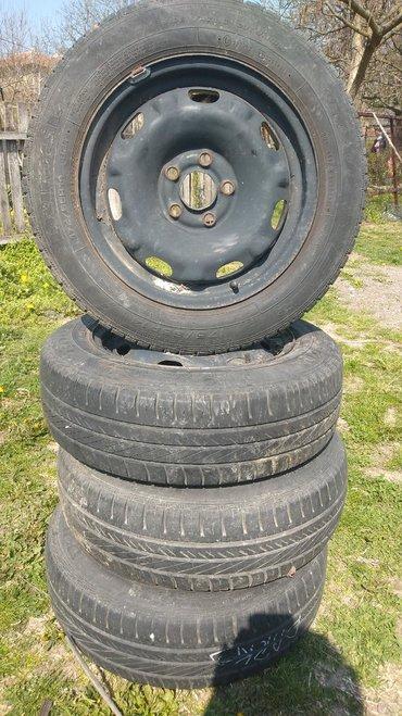 5x100 - Srbija: Polovne gume sa felnama goodyear 175/65R14 5x100 za pola,skodu,seat