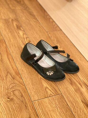 Продаю туфли на школьницу, размер 30, мало носили, в отличном