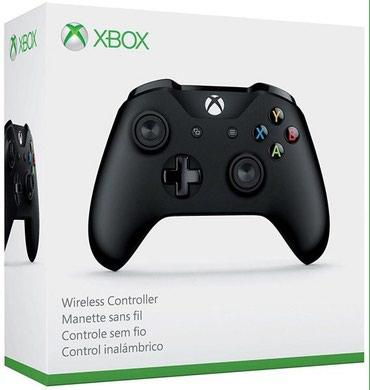 Bakı şəhərində Xbox one ucun dualshok controller tam bagli upokovkada orginal