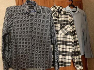рубашка от mexx в Кыргызстан: Мужские рубашки 3 шт. В хорошем состоянии.цена за каждую. Все отдам за