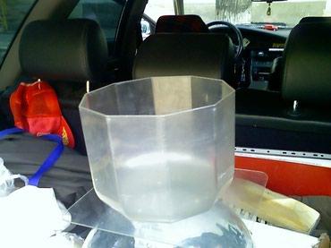 Продаю аквариум, оргстекло, 5 литров, цена 300 сом в Бишкек