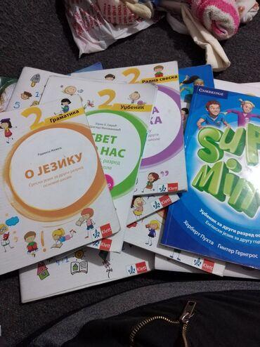 Knjige, časopisi, CD i DVD | Prokuplje: Knjige za 2 razred klet po novom programu