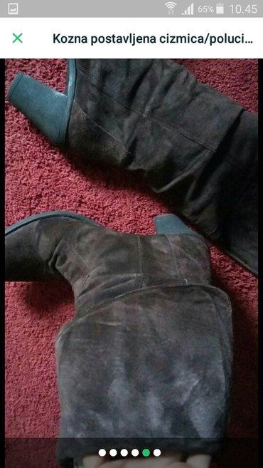 Cizme kozne postavljene 2u1 i cizme i polucizme 38 br snizeno fiksno - Trstenik - slika 5