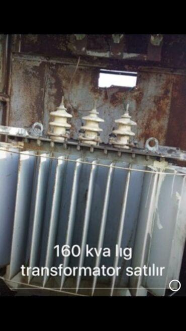 Transformator 160 kWt-liq. Islekdir. Unvan Lenkeran