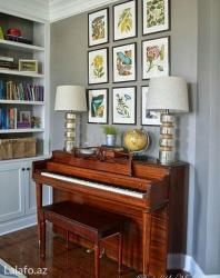 Bakı şəhərində Evinizde piano dersleri
