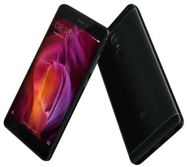 redmi-note-8-pro-бу в Кыргызстан: Б/у Xiaomi Redmi Note 4 Черный