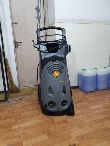 tumbochka pod telek в Кыргызстан: Продаю моечный аппарат высокого давления karcher hd 10/21-4 s в