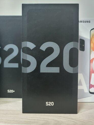 samsung galaxy c7 в Кыргызстан: Новый Samsung Galaxy S20 128 ГБ Черный