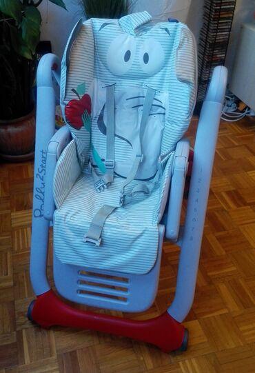 Belo krem stepena - Srbija: Chicco Polly 2 Start - hranilica za bebe sa najvećim stepenom