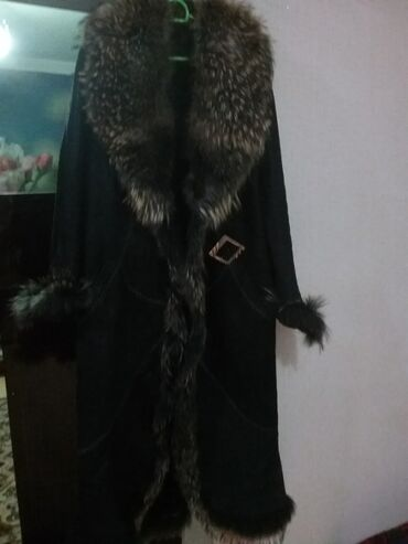 dublyonka - Azərbaycan: НОВАЯ!!!Дубленка,натуральный мех.размер 52-54 Производство