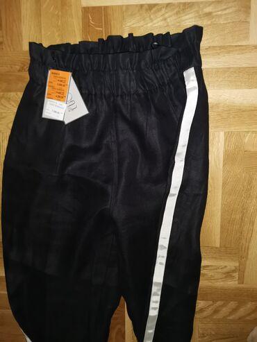 Mona suknja - Srbija: Mona pantalone L veličina 44 nove sa etiketom