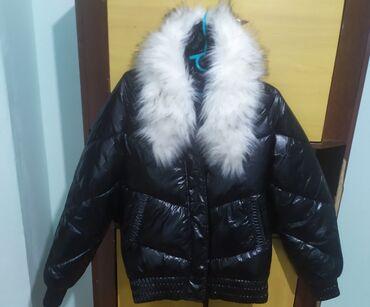 Куртка зимняя состояние новое, размер м (44-46). Чуть удлиненная