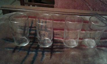 Чешское стекло 4 стаканчика в Бишкек