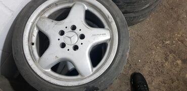 amg диски r17 в Кыргызстан: Срочно продаю диски AMG R17 резина бонус разноширокие один диск надо в