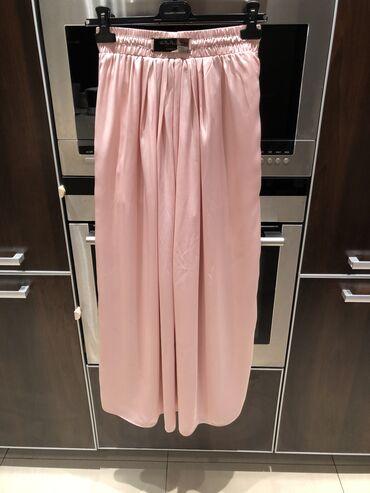 Италия юбка в пол! новая!! размер на S-M. шелк! пояс на резинке. цвет
