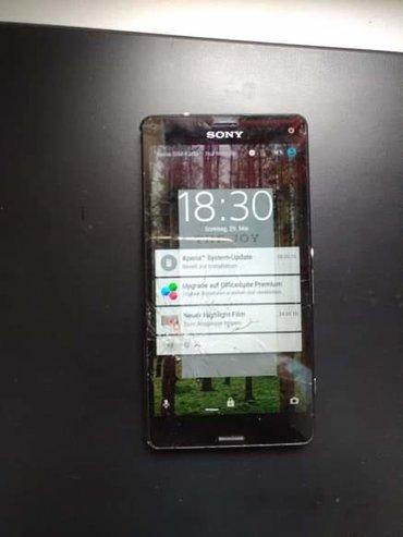 Sony xperia z3 e6553 black - Srbija: Potrebna je zamena taca i zadnjeg poklopca ostalo sve ispravno na