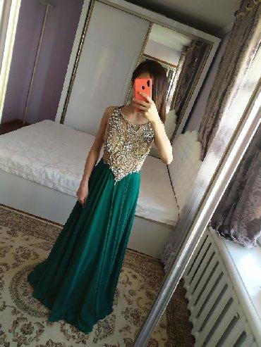 серьги золото 375 проба в Кыргызстан: Продаю вечернее платье, верх полностью вышит из камней Сваровски. На