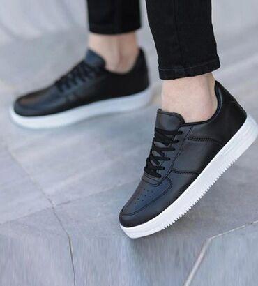 Кеды чёрные для активного ходьбы. ( бренд MUGGO, Unisex) Турция