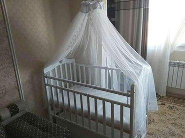 Кроватка с маятником качания в Бишкек