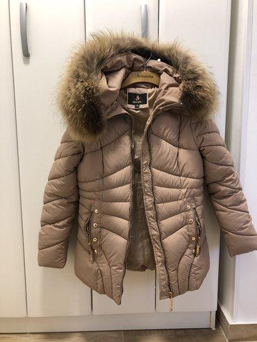 Flo-clo-jakna-placena-e - Srbija: NOVA sa PRAVIM KRZNOM zenska jakna. S velicina. Nikad obucena. PREDIVN