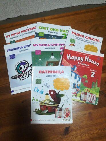 Knjige, časopisi, CD i DVD | Sabac: Za drugi razred logos imamo i radne sveske ako treba. Knjige su ocuvan