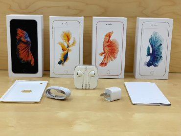 Apple iPhone 6s 16GB - 350 AZN Apple iPhone 6s 32GB - 380 AZN Apple