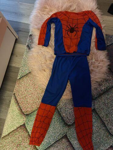 Ostala dečija odeća | Sremska Mitrovica: Deciji kostim spajdermen vel 4