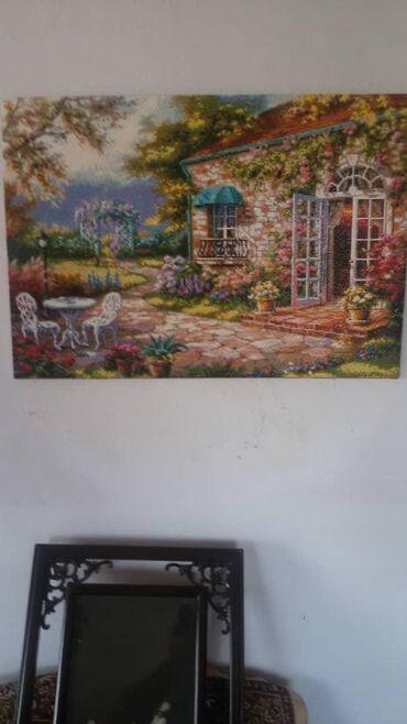 сюрреализм-картины в Кыргызстан: Продам картины:1 фото ручная работа бисером цена 4000ращмер 0.48 на ф