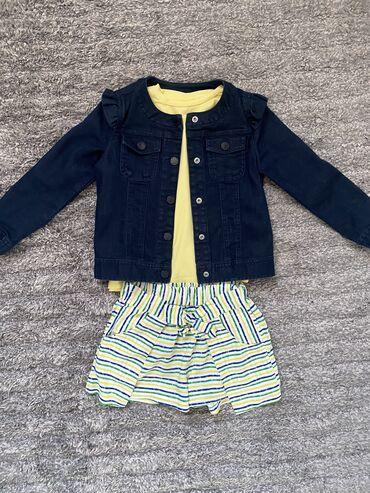 Za decu - Srbija: Beneton jakna, Zara majica i sorc, vel 5