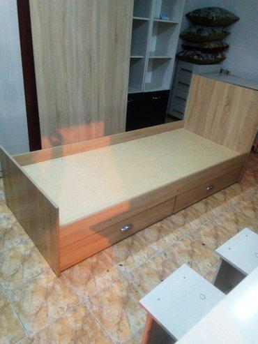 НОВЫЙ КРОВАТЬ одноместный • кровать одноместный . качество отличное .  в Лебединовка