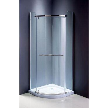 Душевой уголок ОDА-8030 В б/с (90*90) н/пкаленое стекло 6