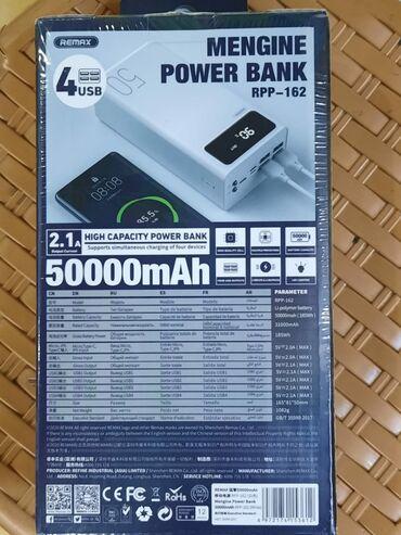 бу аккумулятор в Азербайджан: PowerBank 50000 mAh Remax ORIGINAL🔥🔴Heç yerdə original malı bu qiymətə