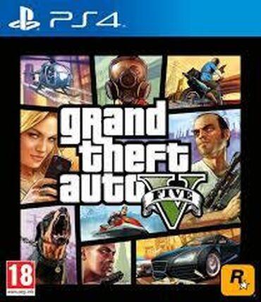 gta 5 disk qiymeti в Азербайджан: GTA-5 PS-4 oyunu ideal veziyyetdedir