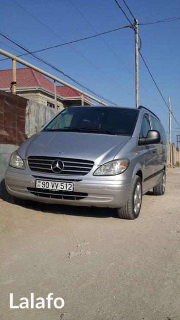 Mercedes vito ile otelden ayraporta ve ya ayraportdan otele 30 azn qon в Баку
