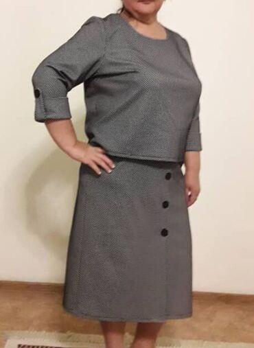 женское платье 52 в Кыргызстан: Новый женский костюм. Размер 52