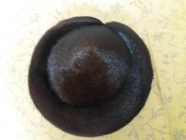Головной-убор-норковые - Кыргызстан: Продаю норковую шапку в отличном состоянии