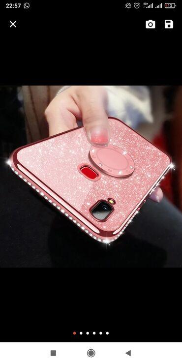 Продаю чехол на mi max 3 новый с кольцом, в розовом цвете